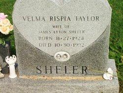 Velma Rispia Taylor Sheler