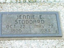 Jennie E Stoddard