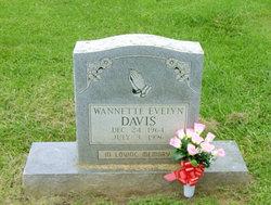 Wannette Evelyn Davis