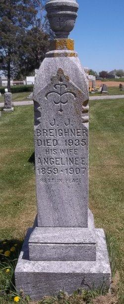 Angeline Elizabeth <i>Groft</i> Breighner