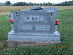 Elizabeth Sarah Sarah <i>Edwards</i> Bright