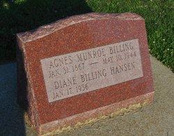 Agnes <i>Munroe</i> Billing