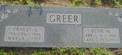 Elsie M Greer