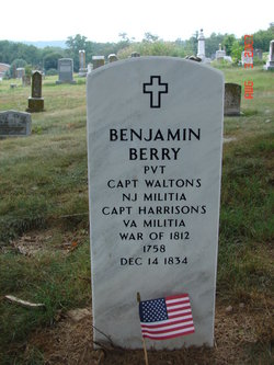 Pvt Benjamin Berry