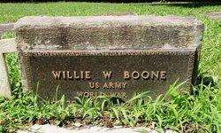 Willie W. Boone, Sr