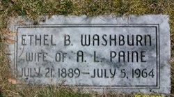 Ethel B <i>Washburn</i> Paine