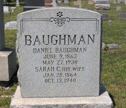 Sarah C <i>Spatz</i> Baughman
