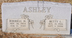 Betty Lou <i>Diel</i> Ashley