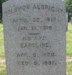 Caroline <i>Cornman</i> Albright