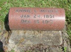 Anna Eliza Annie <i>Vannoy</i> McBee