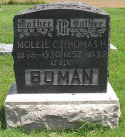 Mollie Catherine <i>Edwards</i> Boman