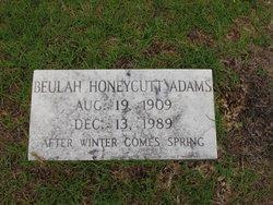Beulah <i>Honeycutt</i> Adams
