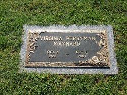 Virginia Elizabeth <i>Perryman Rogers</i> Maynard