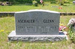 Martha Ann <i>Glenn</i> Aschauer