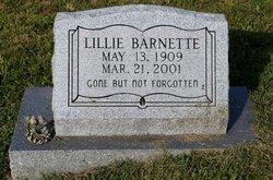 Lillie Barnette