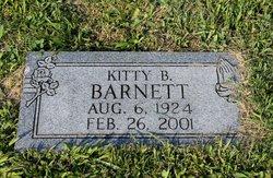 Kitty <i>Bowens</i> Barnett