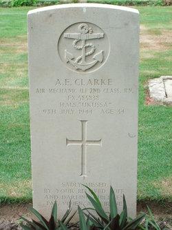 Air Mechanic (L) 2nd Class Alfred Edwin Clarke