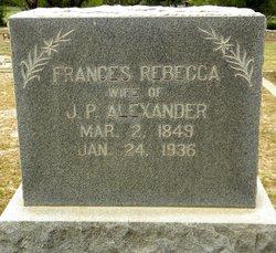 Frances Rebecca Alexander