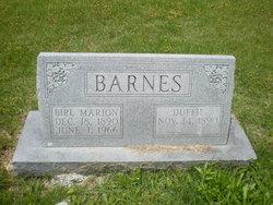 Duffie Mae <i>Boyd</i> Barnes