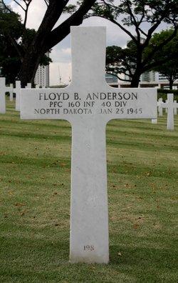 PFC Floyd B Anderson