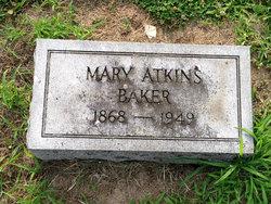 Mary <i>Atkins</i> Baker