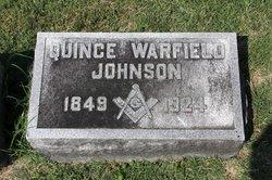 Quince <i>Warfield</i> Johnson