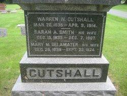 Sarah A <i>Smith</i> Cutshall