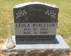 Leola Burleson