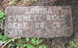 Louisa <i>Everett</i> Beach