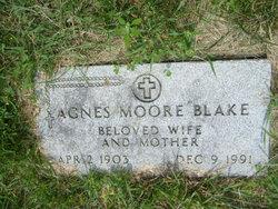 Agnes <i>Moore</i> Blake