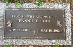 Jeannie D. <i>Hartley</i> Cook