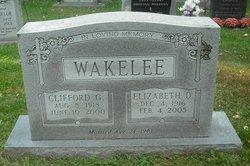 Clifford George Wakelee, Sr