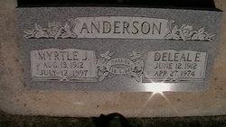 Myrtle Josephine <i>Madsen</i> Anderson