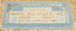 Marie <i>Bolander</i> Fike