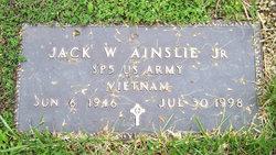 Jack W Ainslie, Jr