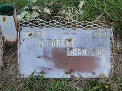 M Lorene Lorene <i>Berry</i> Branson