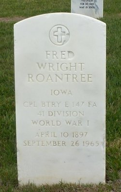 Fred W Roantree