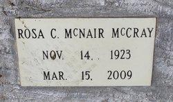 Rosa C <i>McNair</i> McCray
