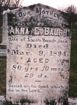 Anna Catherine <i>Linhoss</i> Baugh