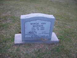 Margie Ann <i>Byrd Barrett</i> Matson