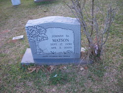 Johnny Buddy Matson, Sr