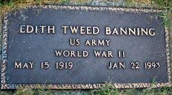 Edith <i>Tweed</i> Banning