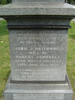 Carrie J. <i>Waterworth</i> Campbell