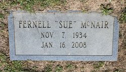 Fernell Sue McNair