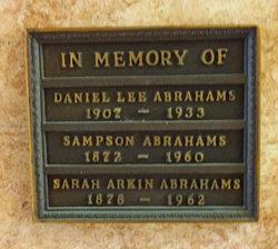 Daniel Lee Abrahams