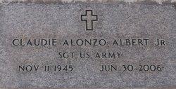 Sgt Claudie Alonzo Al Albert, Jr