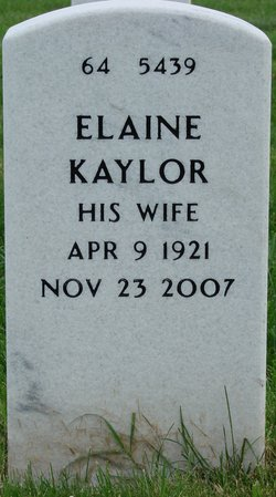 Elaine <i>Kaylor</i> Cline