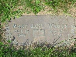 Mary Jane <i>Bedwell</i> Wages