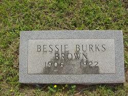Bessie Leola <i>Burks</i> Brown