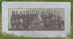 Arie Beatrice <i>Phillips</i> Bailey